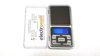 цифровые ювелирные весы MH-500 (500g0.1). Видео обзор от Интернет-магазина Electronoff