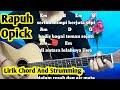 Kunci Gitar Rapuh Opick | Mudah Dan Gampang By Darmawan Gitar