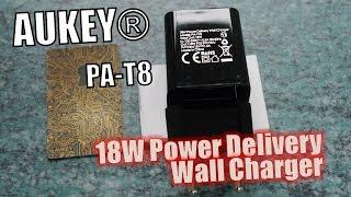 AUKEY PA-Y18 Test: 18W USB Typ C Stecker Ladegerät für Power Deliv...