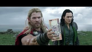 thor ragnarok  thor in debt of hela funny hindi dubbing