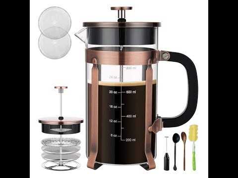 How to Use a French Press/ BEST coffee maker