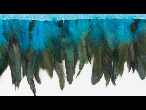 How to Sew on Feathers and Make Your Own Feather Trim