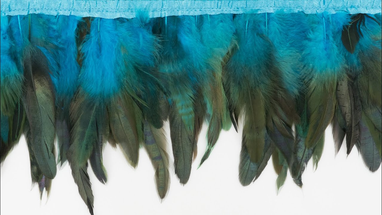 How to Sew on Feathers and Make Your Own Feather Trim ...