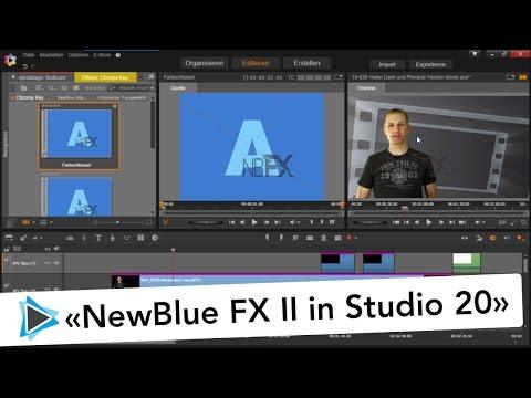 NewBlue FX 2 ohne Wasserzeichen Problem verwenden in Pinnacle Studio 20 Deutsch Video Tutorial