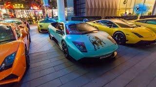 50 Lamborghini Arrives to Lamborghini Store Singapore!