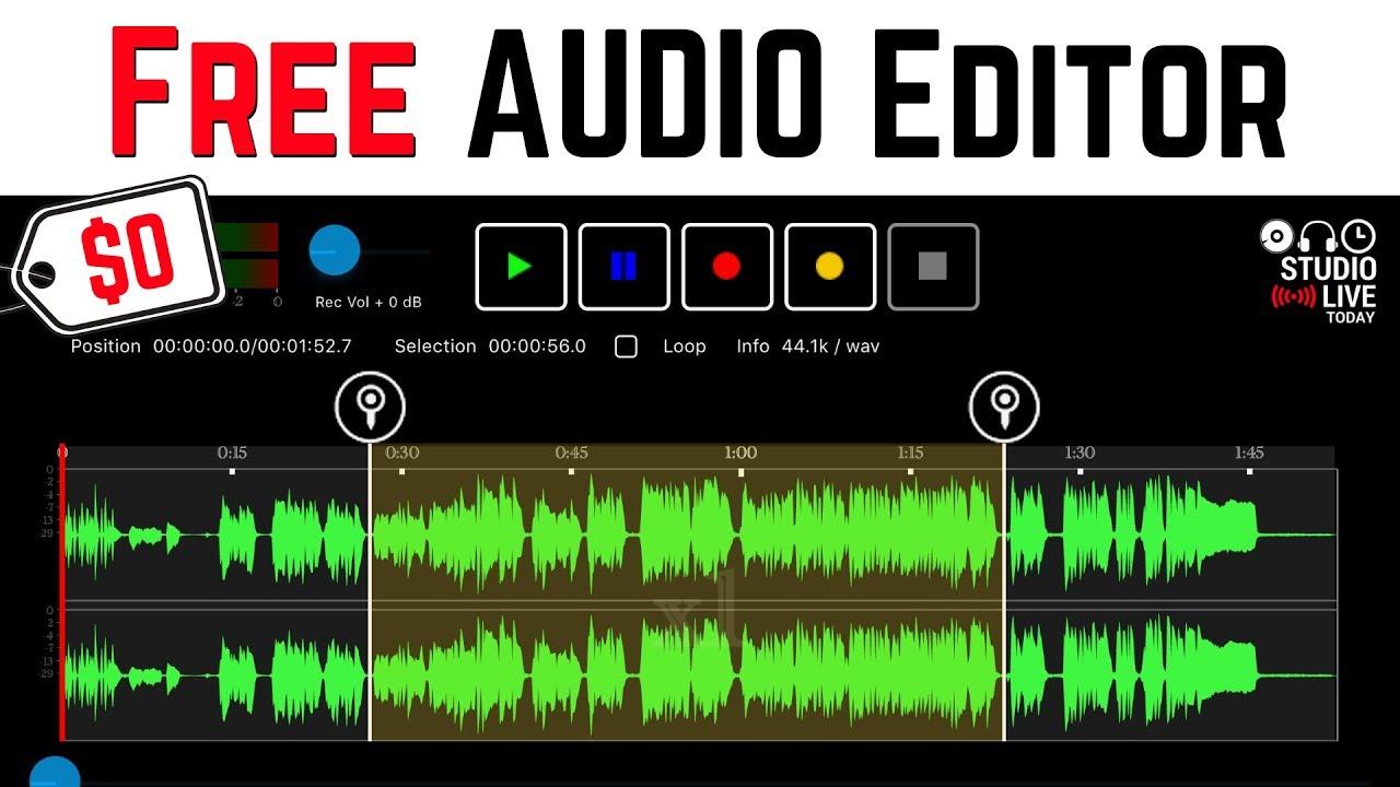 descargar free audio editor full espa?ol