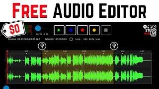 Free AUDIO EDITOR for iPhone/iPad - Lexis Audio Editor