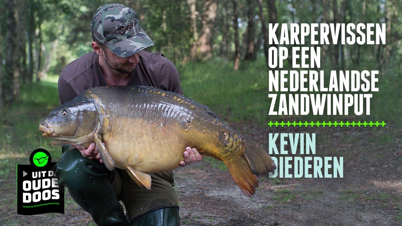 Karpervissen op een Nederlandse zandwinput met Kevin Diederen - Uit de oude doos - Korda Benelux