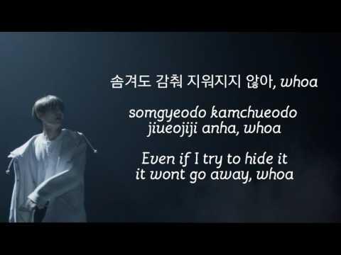 """BTS TAEHYUNG """"Stigma"""" TEASER LYRICS (방탄소년단 태형 """"스틱마"""" 가사)"""