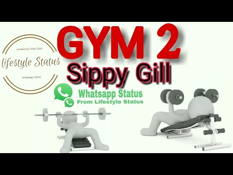 Gym 2 Sippy Gill New Punjabi Hd Whatsapp Status Whatsapp Status Lifestyle Status Youtube