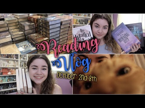 ALL OF THE BOOKS ON MY TBR PILE | Reading Vlog #10 October 2nd-8th