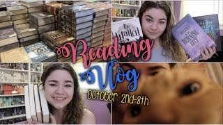 ALL OF MY UNREAD BOOKS | Reading Vlog #10: October 2nd-8th