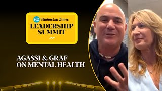 Should more athletes speak about mental health? Agassi & Graf respond #HTLS2020
