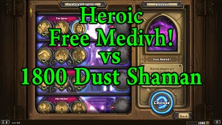Hearthstone: Heroic Free Medivh! with 1800 Dust/Kel