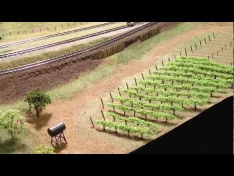 How to Plant an N-Scale Vineyard   14×12
