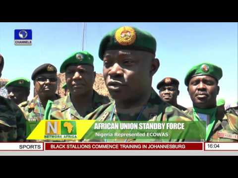 Network Africa: African Union Standby Force Complete Training