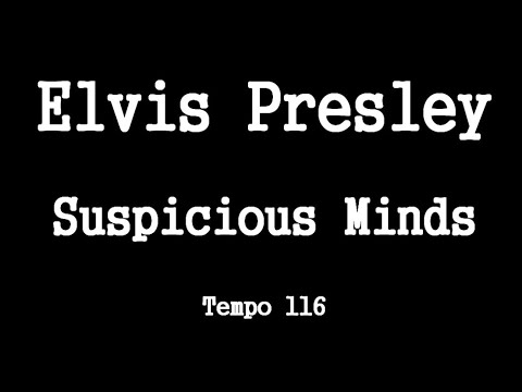 Elvis Presley   Suspicious Minds   Video Chords