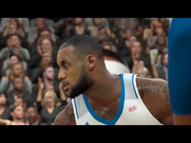 NBA 2K17 Max Settings GTX 970 Gameplay