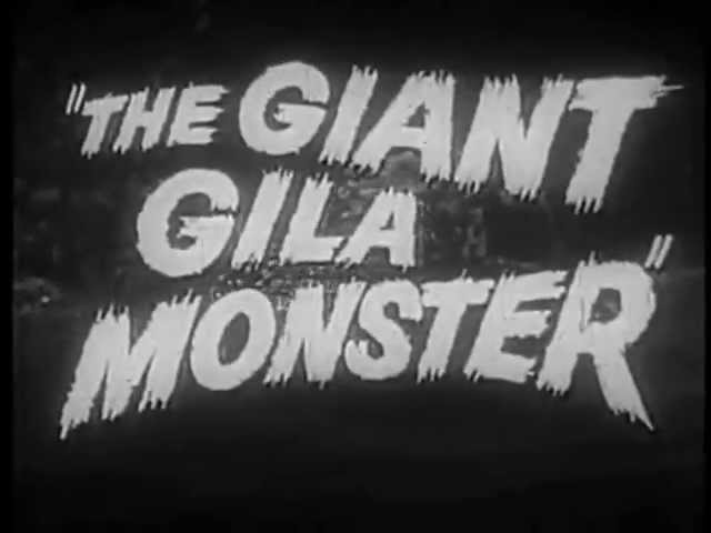 The Giant Gila Monster Trailer Travel Video