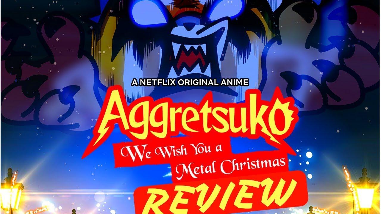 Aggretsuko Christmas.Aggretsuko We Wish You A Metal Christmas Review