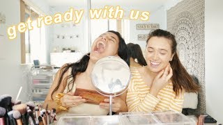 get ready with me & Hannah Meloche (very dramatic) | Ava Jules