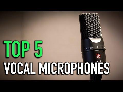 TOP 5: Vocal Microphones 2018