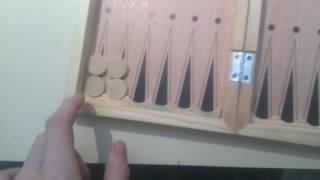 Как играть в нарды? Видео обучение игре в нарды.