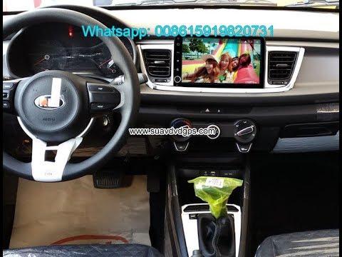 Kia Rio 2017 car audio radio update android wifi GPS camera