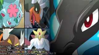 Download Mega Charizard vs Mega Houndoom - Venusaur - Alakazam & more evolutions  - AMV HD 720p Mp3