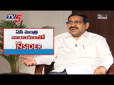 AP Minister P Narayana Exclusive Interview | The Insider | TV5 News