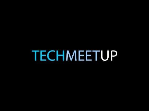 TechMeetUp - Edinburgh, 11.05.2016