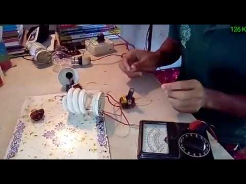 How can you repair your damage energy saving lamp in a simple way part  2 2