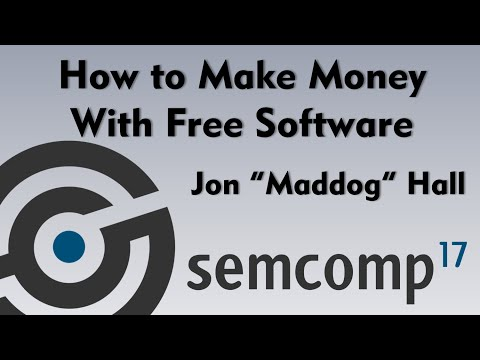 How to make Money with Free Software