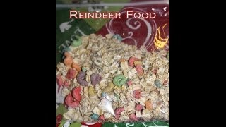 Christmas Craft: Reindeer Food (quick & Easy)
