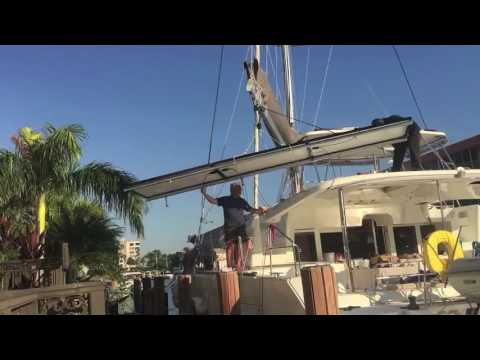 How to add Solar to your Catamaran - Lagoon 450F