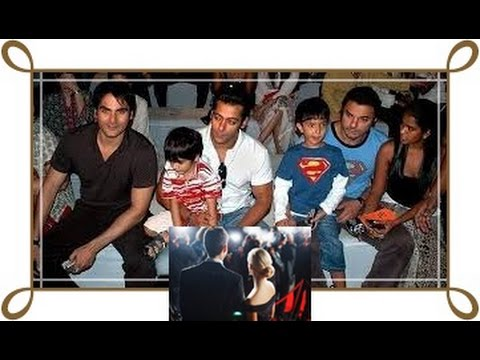 Arbaaz Khan and family photos with friends and relatives