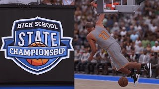 NBA 2K16 PS4 My Career - High School State Championship!