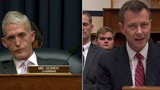 Watch Peter Strzok's fiery response to Rep. Trey Gowdy