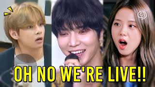 KPOP IDOLS FORGETTING THEY'RE LIVE (FUNNY MOMENTS) | BLACKPINK, BTS, ATEEZ, MAMAMOO, TWICE...