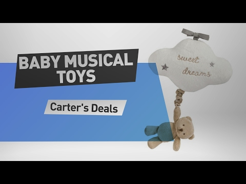 Carter's Baby Musical Toys deals! find Carter's Sweet Dreams Musical Bear Toy and more great deals