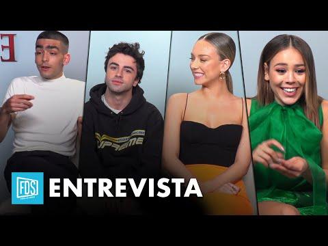 'Élite' T3 | ¿Dónde ven los actores a sus personajes en 10 años? | Netflix