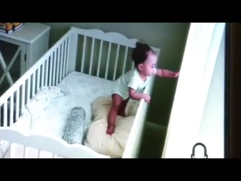 Never Put Crib Near Curtains, Drapes, or Blinds.