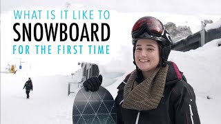 What is it like to learn to Snowboard - Ski Sports Australia
