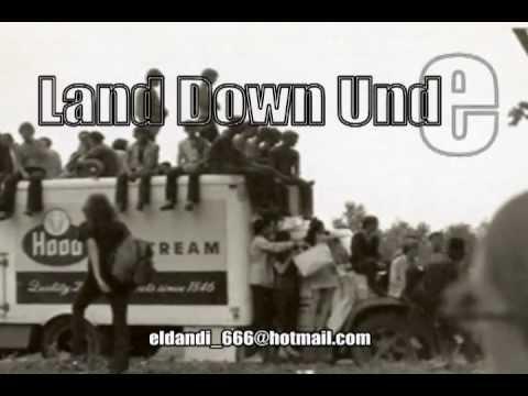 Land down under -Men and Work ( ingles/ español) with lyrics
