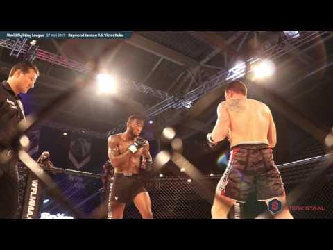WFL Almere MMA gala Raymond Jarman vs Victor Kuku