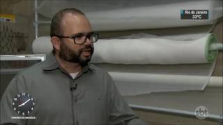 Alumintelas tela mosquiteira - Reportagem SBT Brasil