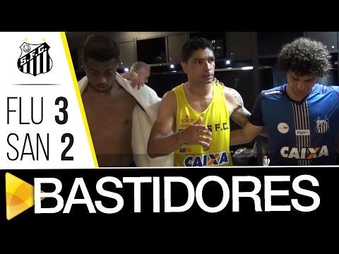 Fluminense 3 x 2 Santos | BASTIDORES | Brasileirão (14/05/17)