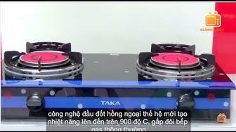 Bếp ga hồng ngoại TAKA TK-HG3, Infrared Burner Gas Stove Cooker