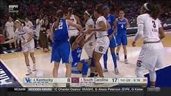 Makayla Epps: Kentucky vs South Carolina (SEC Tournament)