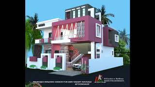 HOME FRONT ELEVATIONS DESIGNS IN BEAUTIFUL COLOR